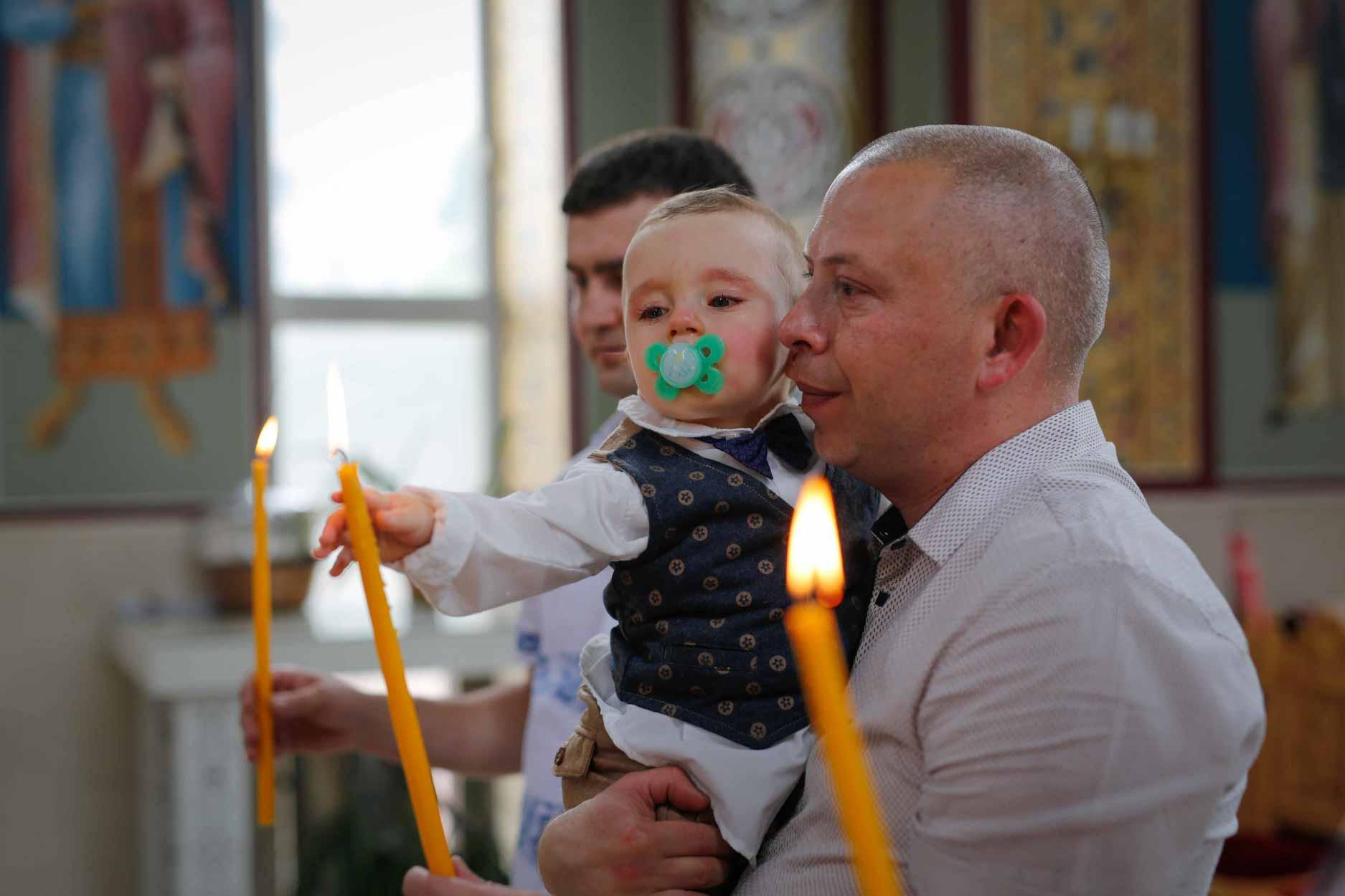 Фотограф заснемане на кръщене Пловдив