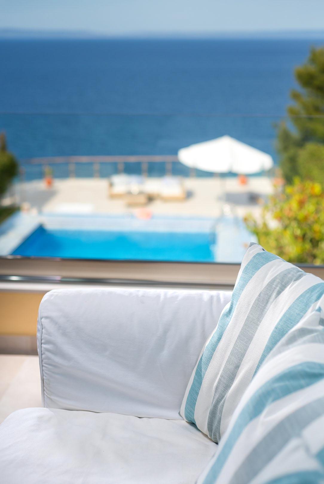 Интериорна фотография хотел край морето Гърция  - Студио Скайвю