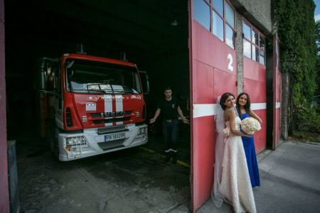 Снимки от сватбата на Мира и Пепо