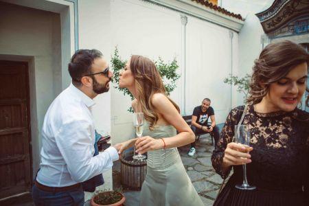 Сватбена фотография Василена и Димитър, Пловдив, Стария град