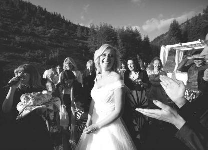 Снимки от сватбата на Людмила и Ганчо